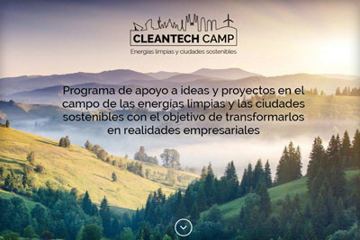 Web de Cleantech Camp