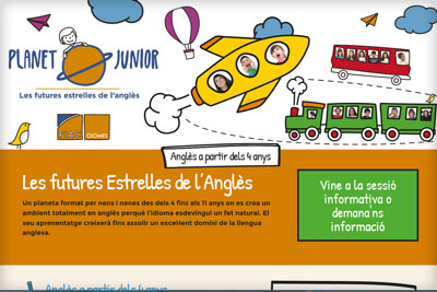 Web de Planet Junior