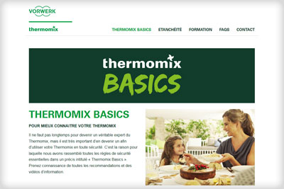 Web Thermomix Basics